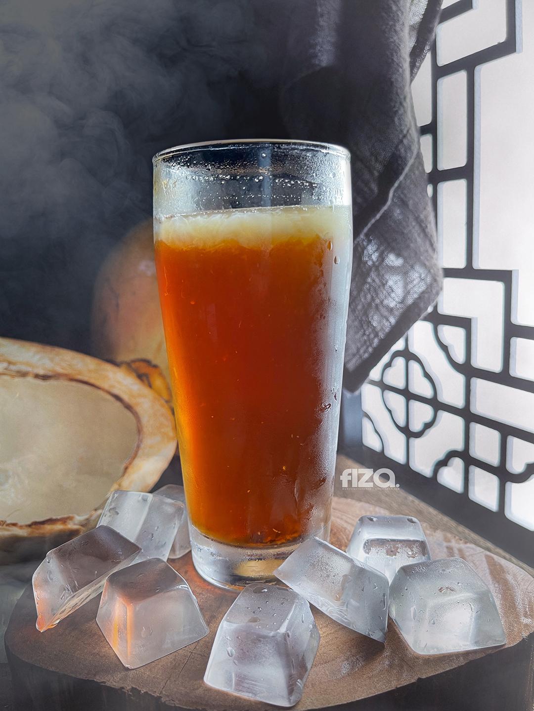 Air Kelapa Kuning Gula Melaka