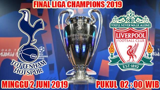 Final Liga Champions 2019 : Tottenham VS Liverpool