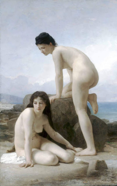 Адольф Вильям Бугро - Две купальщицы (1884)