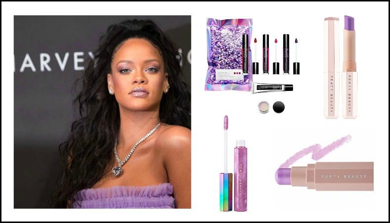 Purple makeup, Ultra violet, Pantone, Makeuptrend, Fenty Beauty By Riihanna