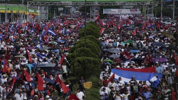Una vez más, miles de nicaragüenses exigen justicia y rechazan la violencia