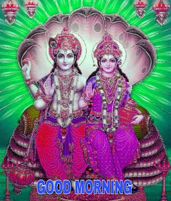 good morning vishnu lakshmi hd photos