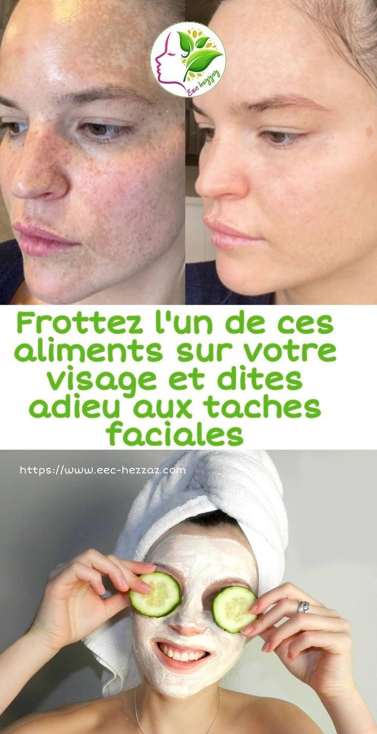 Frottez l'un de ces aliments sur votre visage et dites adieu aux taches faciales