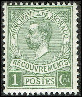 Monaco 1910 Prince Albert I