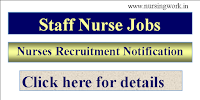 Staff Nurse Recruitment - Government of   India