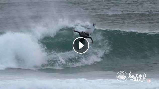 Sesión en MUNDAKA 15 Septiembre 2016 Latas Surf TV