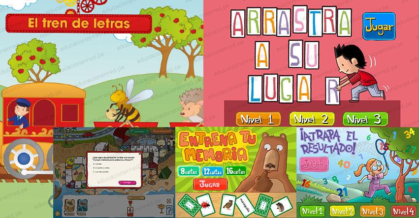 ¡ATENCIÓN DOCENTES! Cinco juegos educativos gratuitos para reforzar el aprendizaje en casa