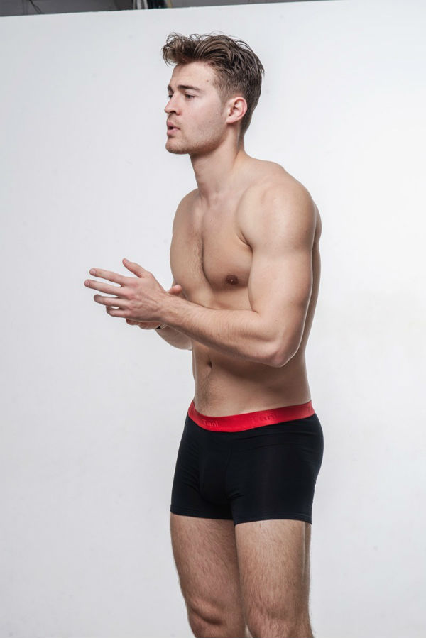 Andrei Sircheli Shirtless by Borja Penacho