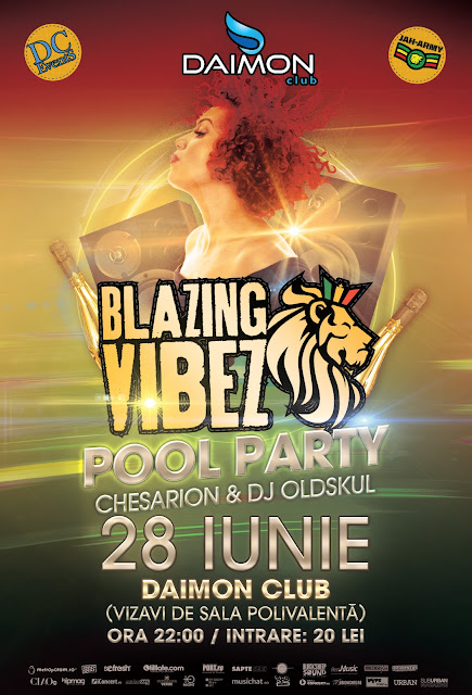Blazing Vibez – Pool Party @ Daimon Club – 28.06.2013
