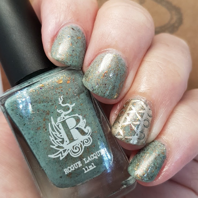 rogue lacquer, pretty polish, nail art stamping, nail art,