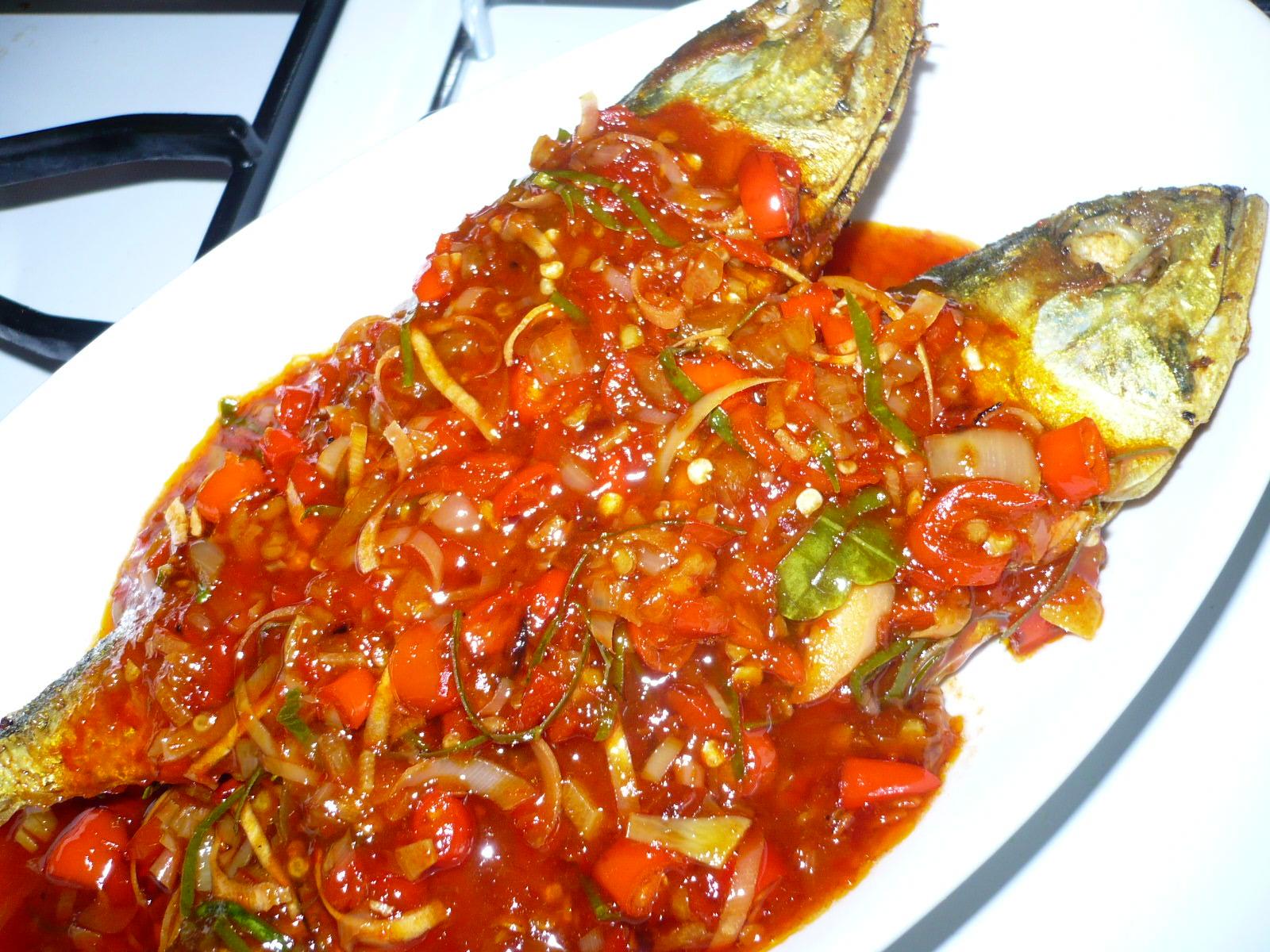 Resepi Ikan Kembung 3 Rasa - Resep Bunda Erita