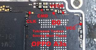 cara-flashing-oppo-a3s-cph1803-metode-direct-emmc-isp