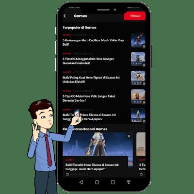 menu game di IDN App
