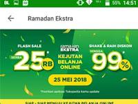 "Detik Detik ""Ramadhan Ekstra, Kejutan Belanja Online"" 24-25 Mei 2018"