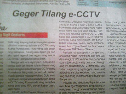 Berita Geger Tilangan e-CCTV Benar Atau Tidak