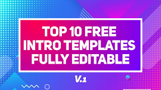 Top 10 Free Intro Templates Without Text No Copyright