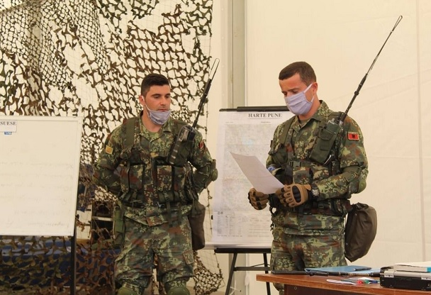Training in Pandemic Time, Albanian Infantry ready for NATO Mission in Afghanistan and Kosovo