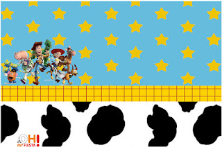 Toy Story 4 Con Forky: Invitaciones y Etiquetas para Candy Bar para Imprimir Gratis.