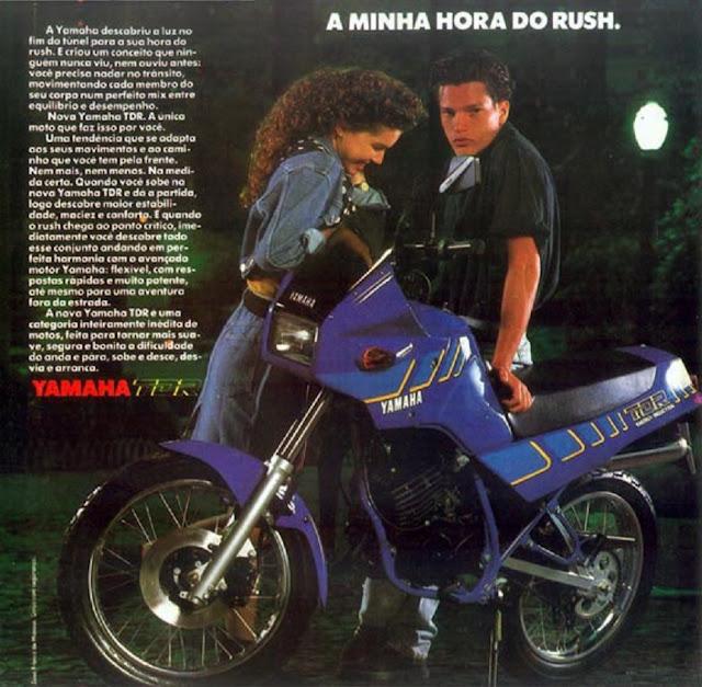 TDR - Garagem do colecionador: Honda NX650 Dominator 1992