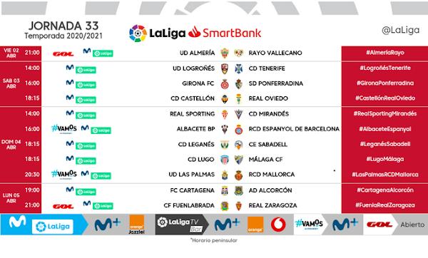 El Lugo - Málaga, el domingo 4 de Abril a las 18:15 horas