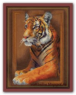 """Панна J-0966 """"Благородный тигр"""""""