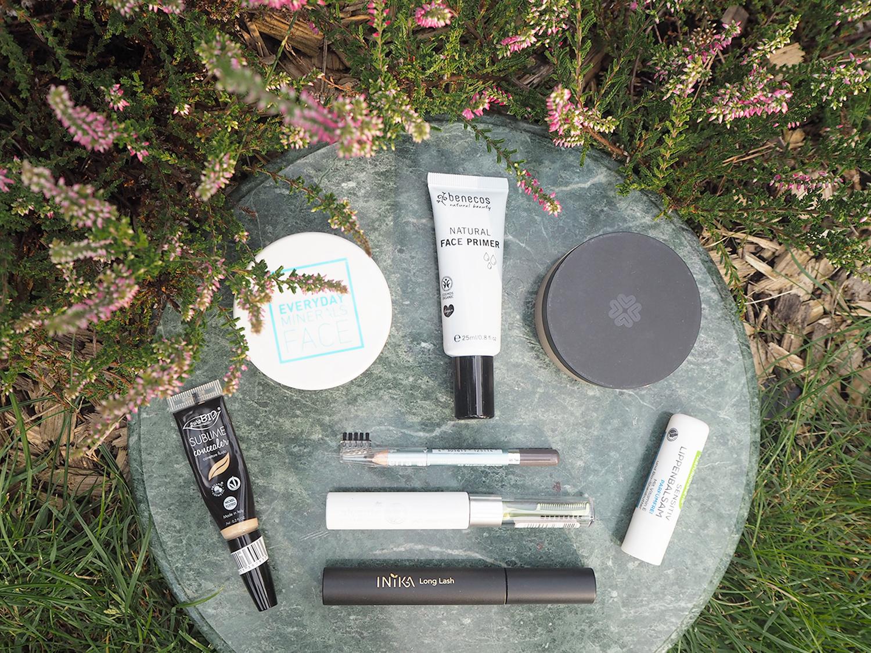 Minimale Produktanzahl für kompletten Make-Up-Look