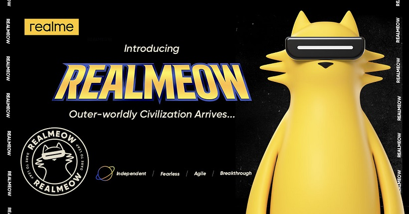 realme intros REALMEOW as official brand character