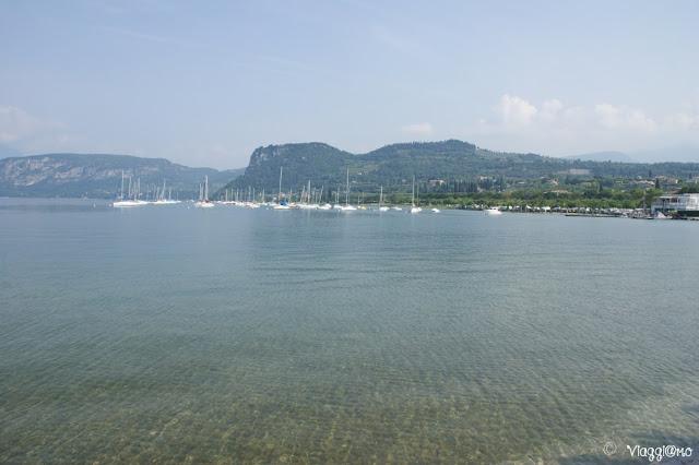 Il lago di Garda a Bardolino