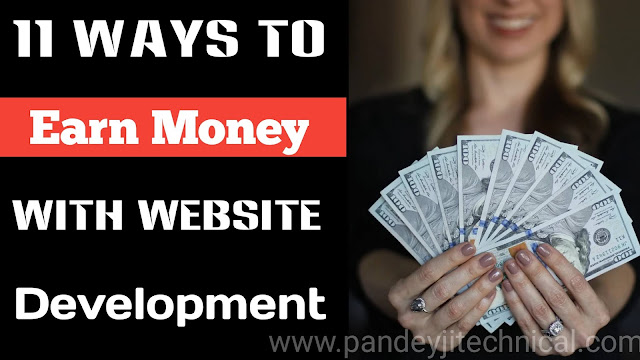 11 ways to earn online with web development in 2021 - Pandey ji Technical
