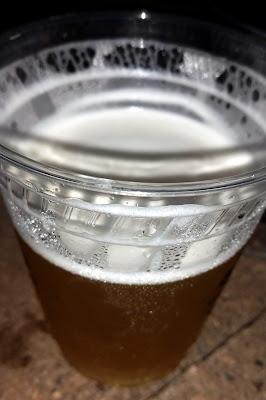 beer in a plastic cup - Leinenkugel's Summer Shandy