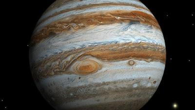 Fotografía de la Gran Mancha Roja de Júpiter