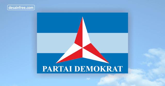 Logo Partai Demokrat Format CorelDraw CDR dan PNG HD