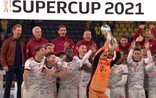 بايرن ميونخ يحقق لقب السوبر الألماني للمرة التاسعة