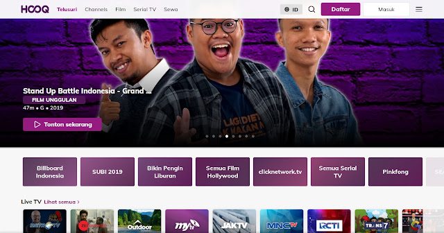 Streaming Film (HOOQ)