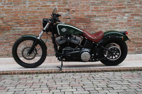 Harley Davidson By Roberto Rossi Hell Kustom