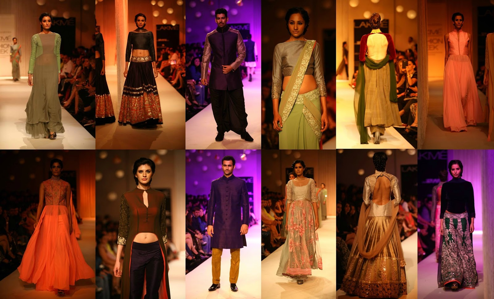 Stylefluid Trendz: 'Reflections' by Manish Malhotra at Lakme