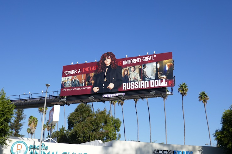Russian Doll winter FYC billboard