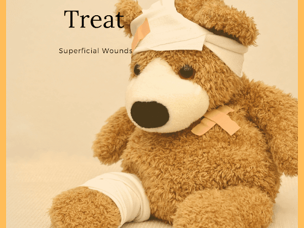 How Do You Treat Superficial Wounds