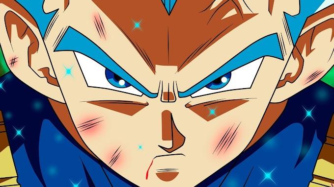 Dragon Ball Super Vegetta SSJ