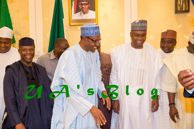2019: Jittery Buhari, APC Woo Saraki With 6 Juicy Offers, Contracts Tinubu To Wade In ...See List of Offers Made To Saraki