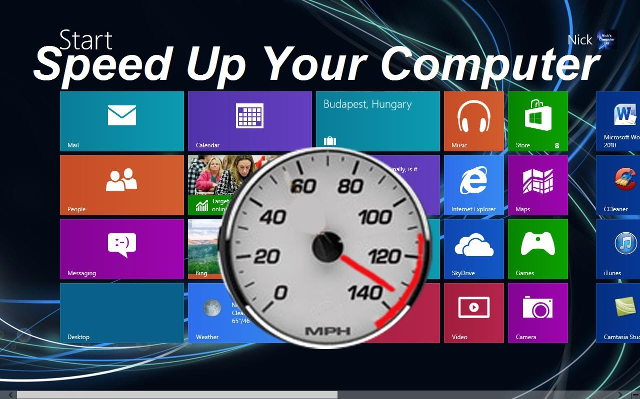 How To Improve Computer Performance Windows 8