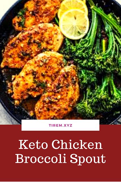 Keto Chicken Broccoli Spout
