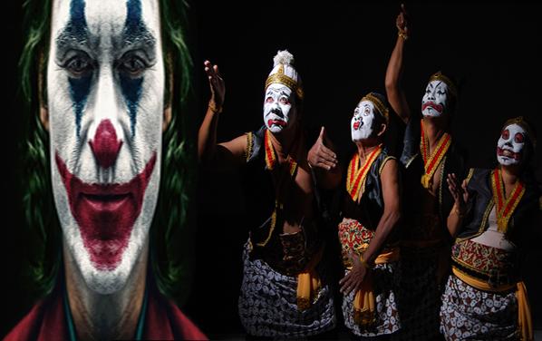 Betulkah Desain Wajah Joker Menjiplak Tokoh Punakwan dalam Wayang ?