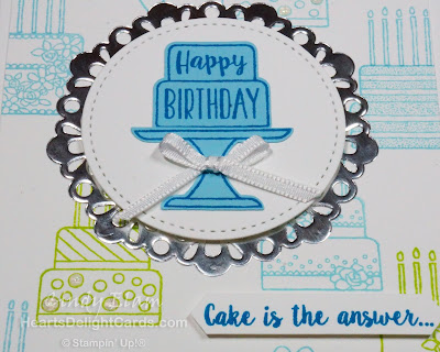 Heart's Delight Cards, Piece of Cake, Sneak Peek, Occasions 2019, Birthday Card, Stampin' Up!