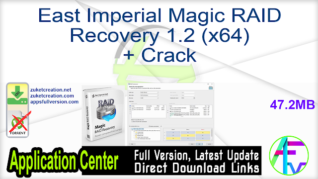 East Imperial Magic RAID Recovery 1.2 (x64) + Crack