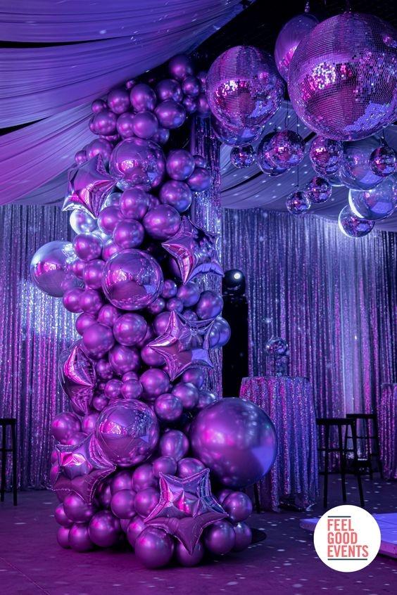 decoração euphoria festa