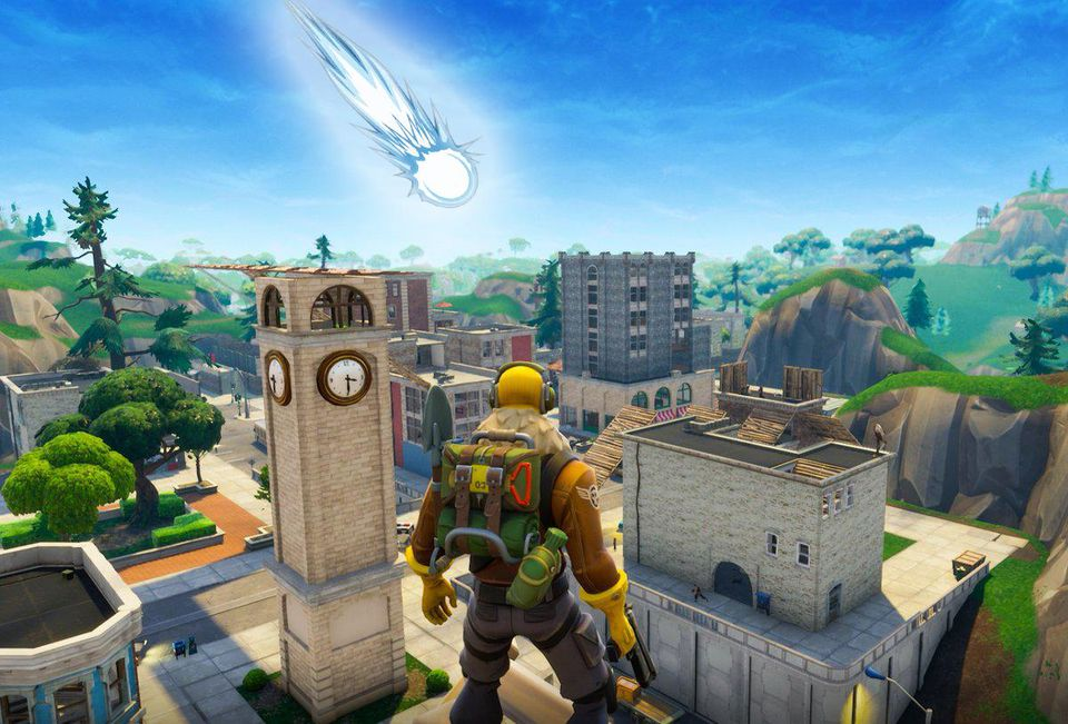 FORTNITE METEORITE MAY HIT TILTED TOWERS TODAY - 4 CRAZY THEORIES