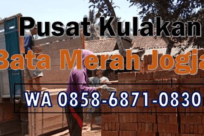 WA 0858-6871-0830   Produsen Bata AT Magelang, Bata Merah Besar , di Jogja