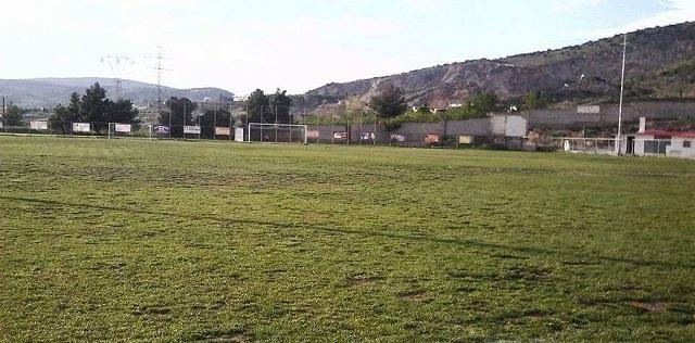 Έργα αποκατάστασης στο γήπεδο του Σαρακηνού από την Περιφέρεια Θεσσαλίας