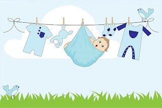 Image: Baby boy clothes line laundry washing, by Kaz on Pixabay